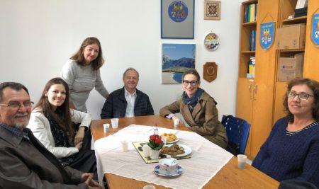Visita da Prof. Mônica Faggionato, representante do Consolato Generale d'Italia – San Paolo