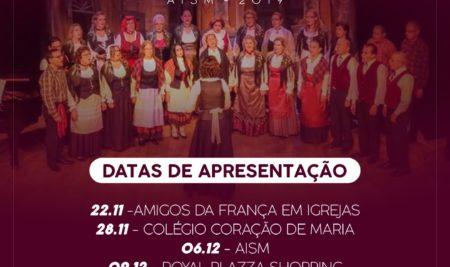 Datas das apresentações do Coral Giuseppe Verdi