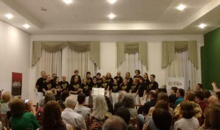 Apresentação Coral Giuseppe Verdi na AISM
