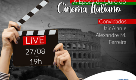 "Live ""A época de ouro do cinema Italiano"""